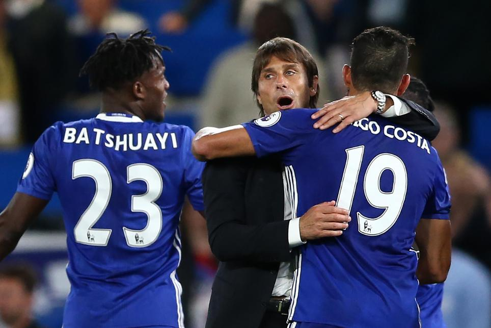Antonio Conte, Diego Costa, Chelsea