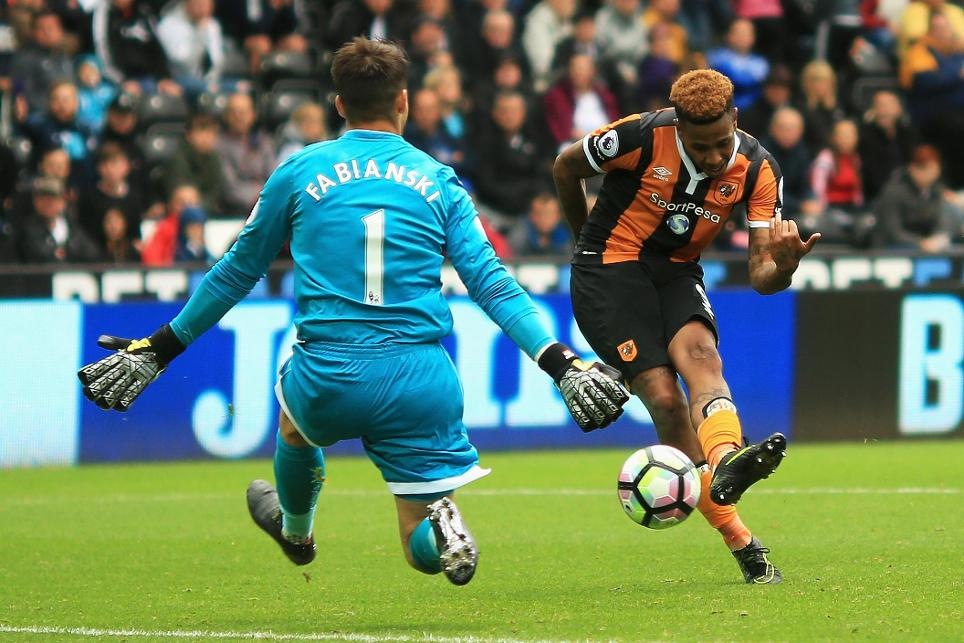 Swansea City 0-2 Hull City
