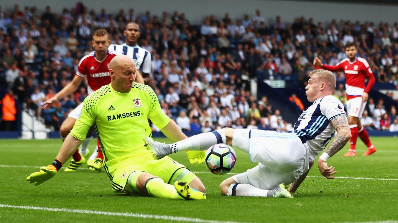 West Bromwich Albion 0-0 Middlesbrough
