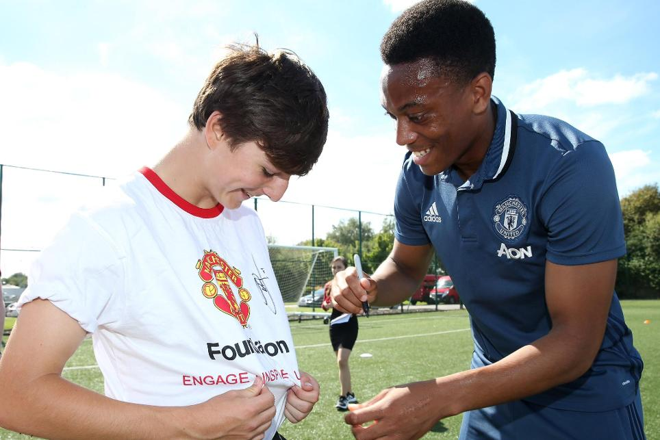 anthony-martial-chris-manchester-united-foundation-ability-counts