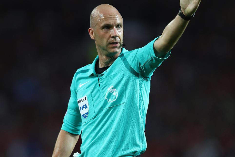 Anthony Taylor, referee, 2016/17