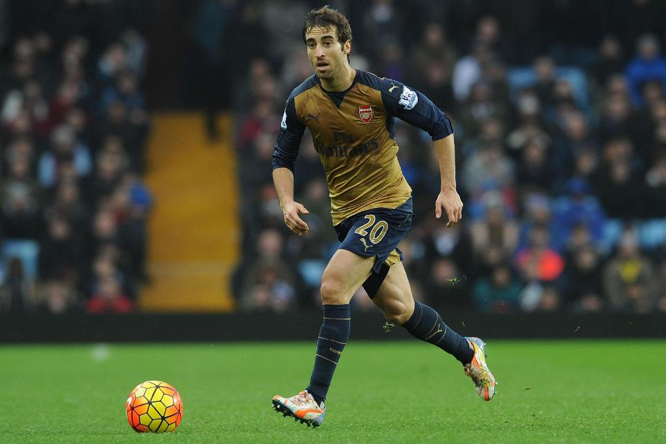 Mathieu Flamini in action for Arsenal