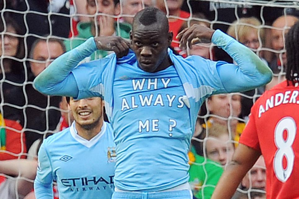 Mario Balotelli, Man Utd, Man City, Why Always Me Cele 090916