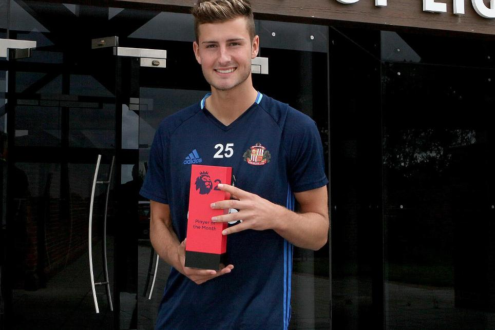Ethan Robson, Premier League 2 Player of the Month for August