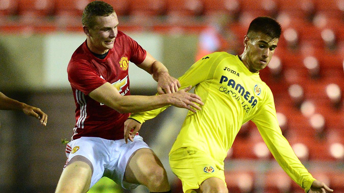 Ramiro Guerra, Villarreal and Ethan Hamilton, Man Utd, Internatonal Cup