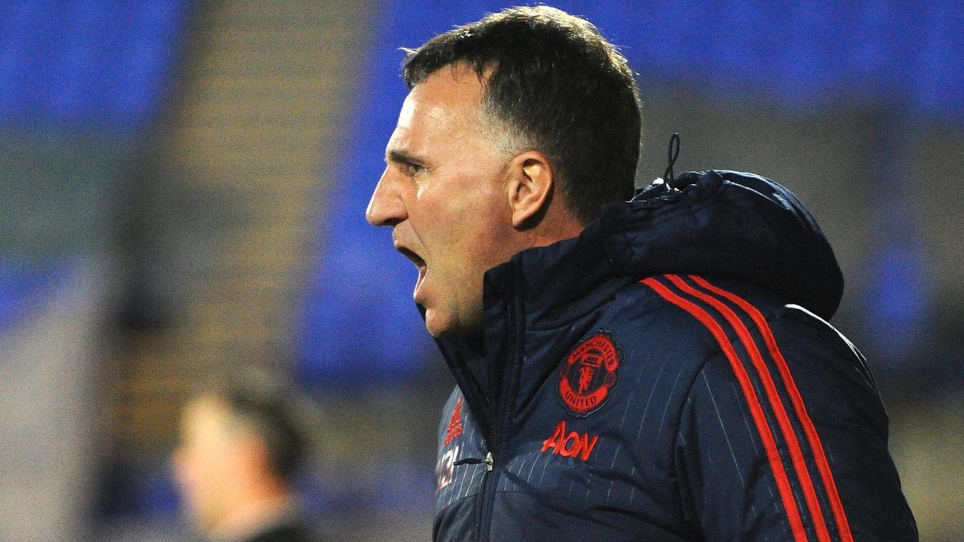 Warren Joyce, Man Utd PL2 coach, International Cup
