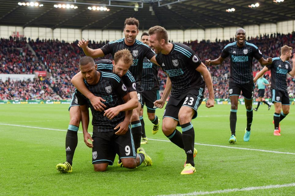 Stoke City 1-1 West Bromwich Albion