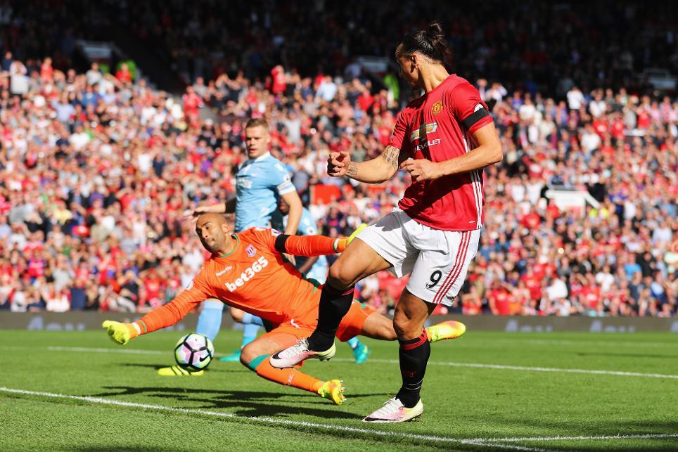 Manchester United v Stoke City