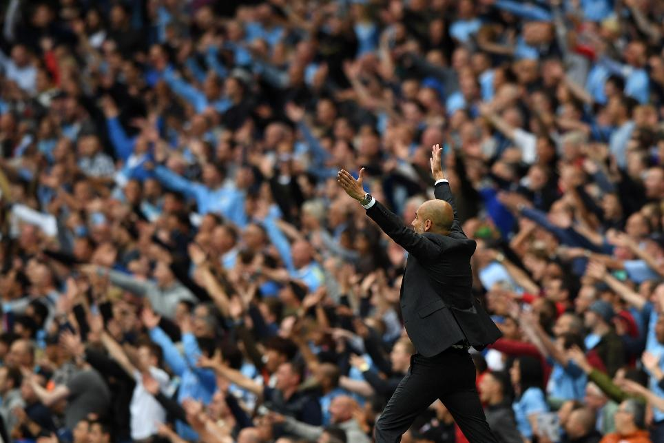 Pep Guardiola, Manchester City v Sunderland, 130816