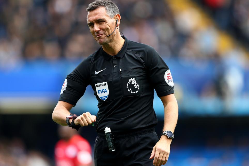 Andre Marriner, Chelsea v Leicester City