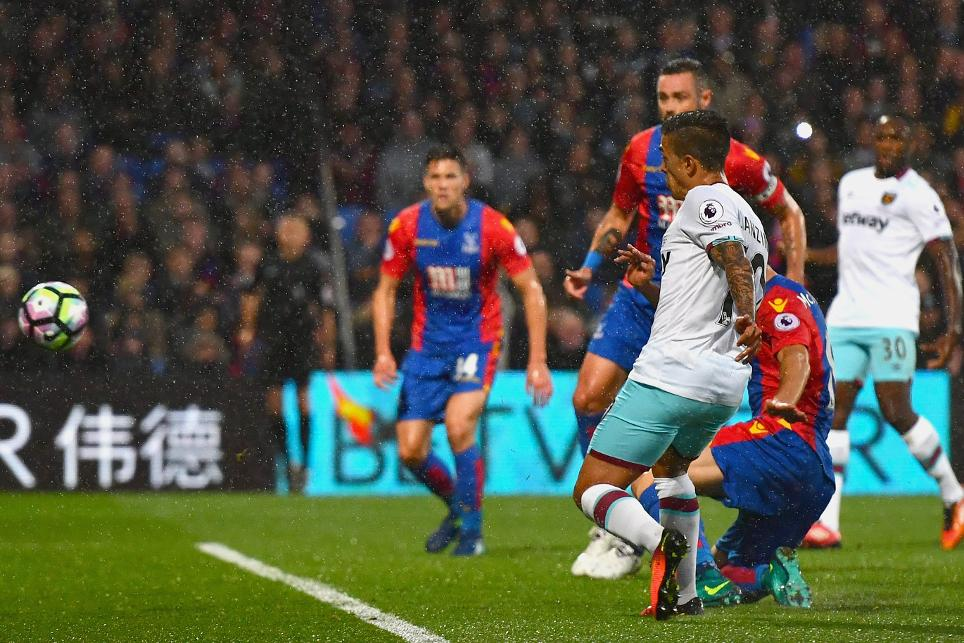 Crystal Palace 0-1 West Ham United