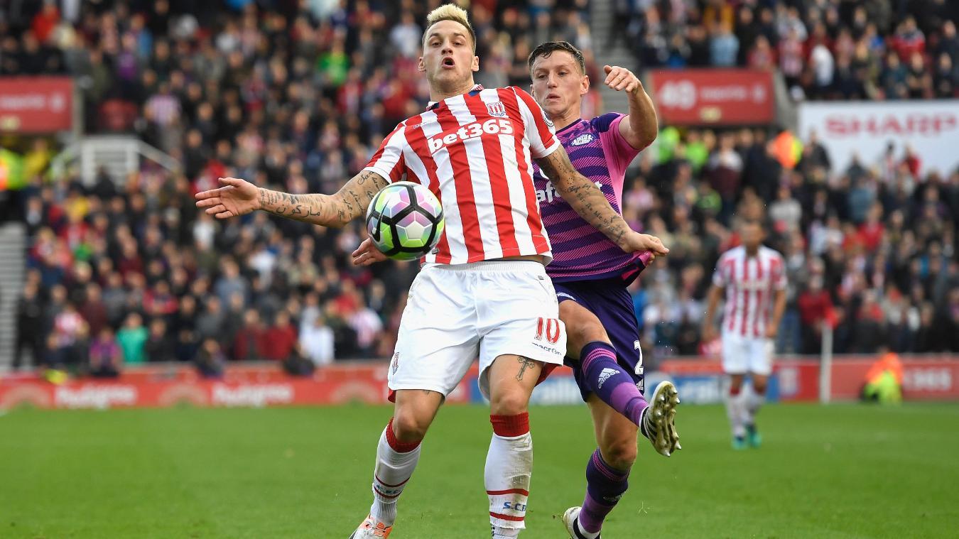 Marko Arnautovic, Stoke City v Sunderland