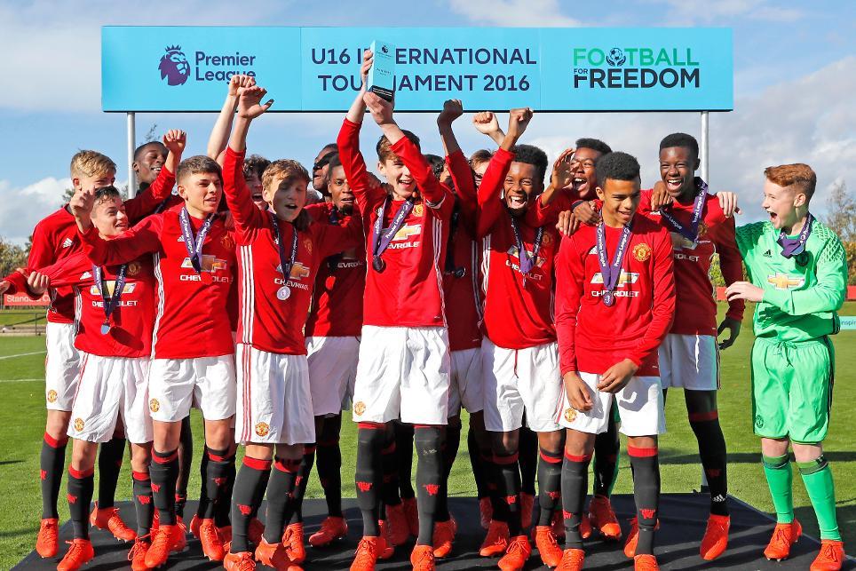 Man Utd Win Football For Freedom Tournament