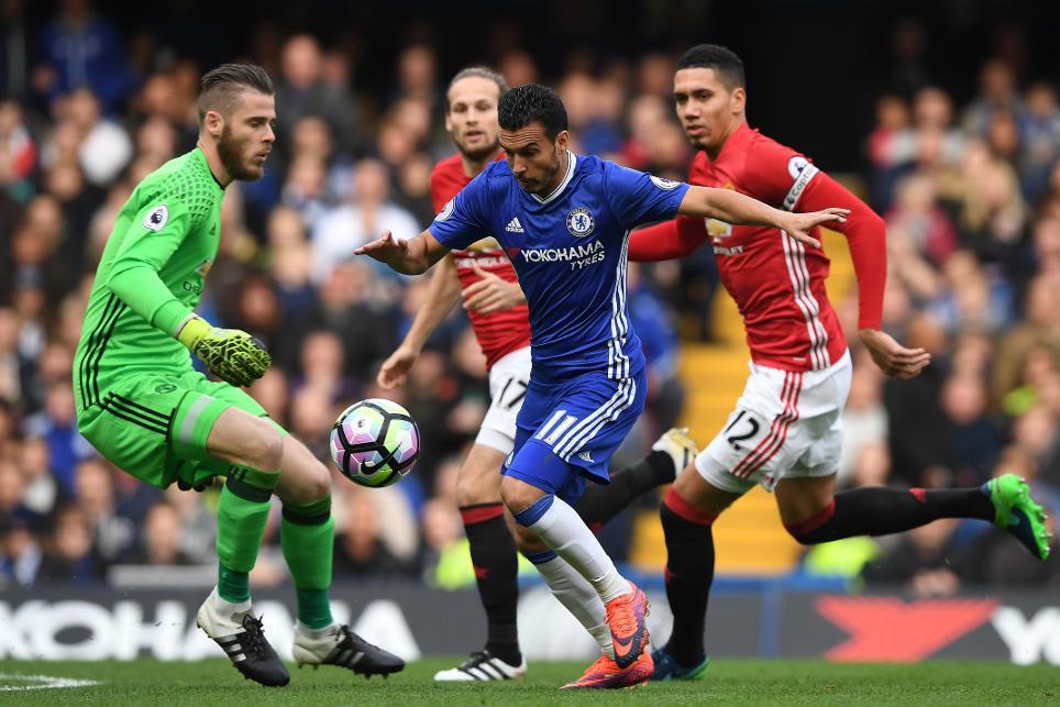 Chelsea v Manchester United, Pedro goal, 231016