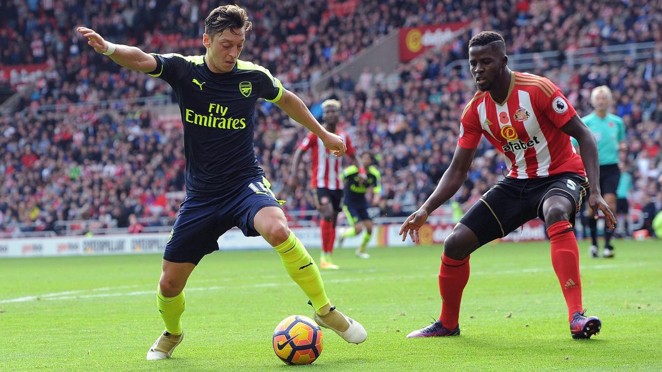 Sunderland v Arsenal - Premier League, Mesut Ozil, 291016