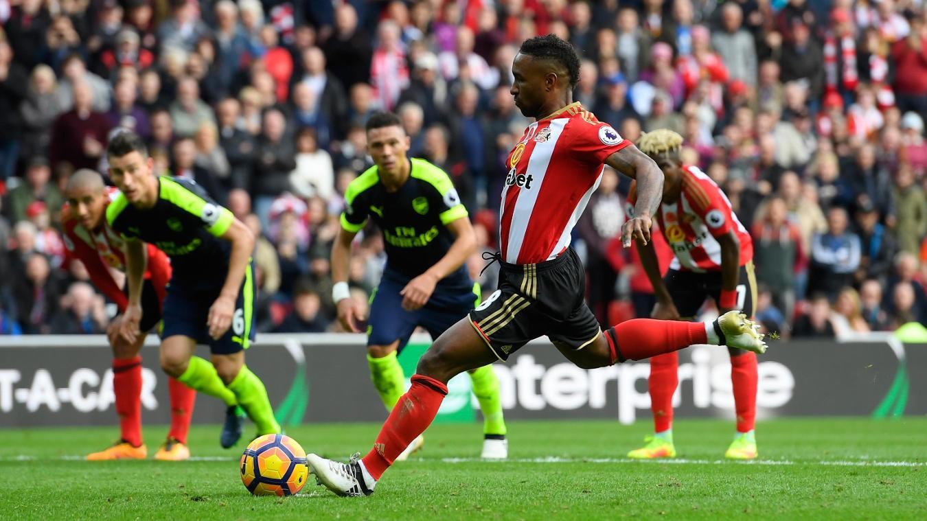 Sunderland v Arsenal - Premier League, Jermain Defoe penalty, 291016