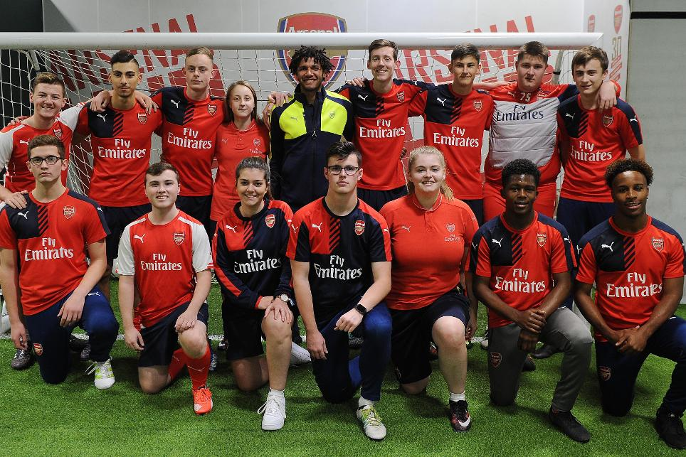 Mohamed Elneny, Arsenal Community Hub, 021116