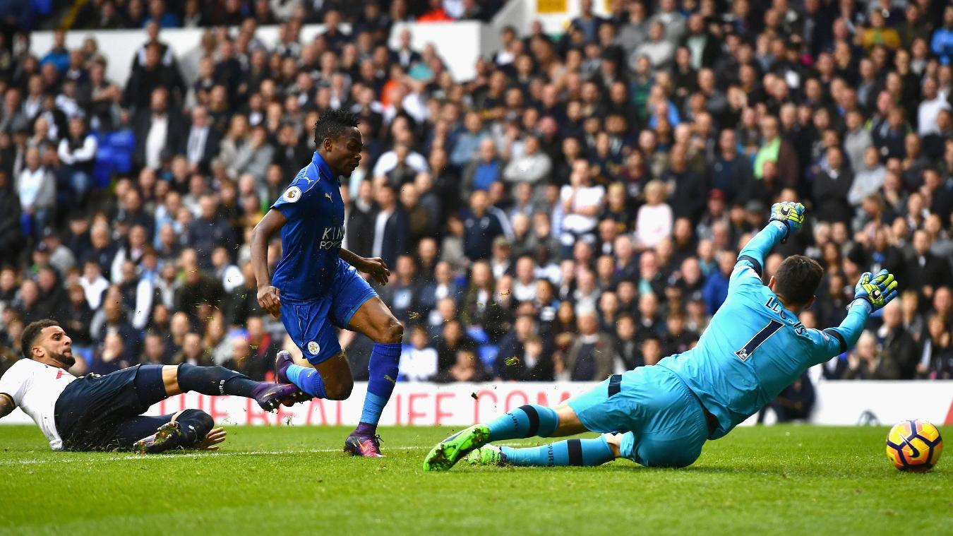 Musa goal, v Spurs, 2016/17