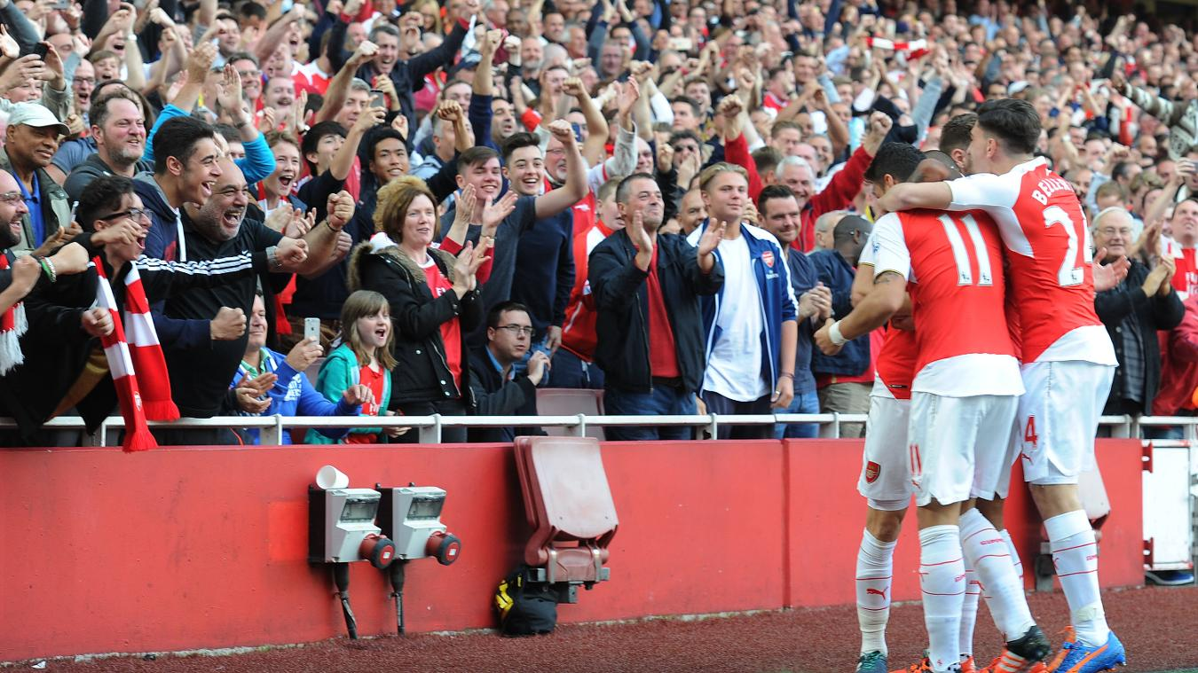 Ticket Values, Arsenal, 101116