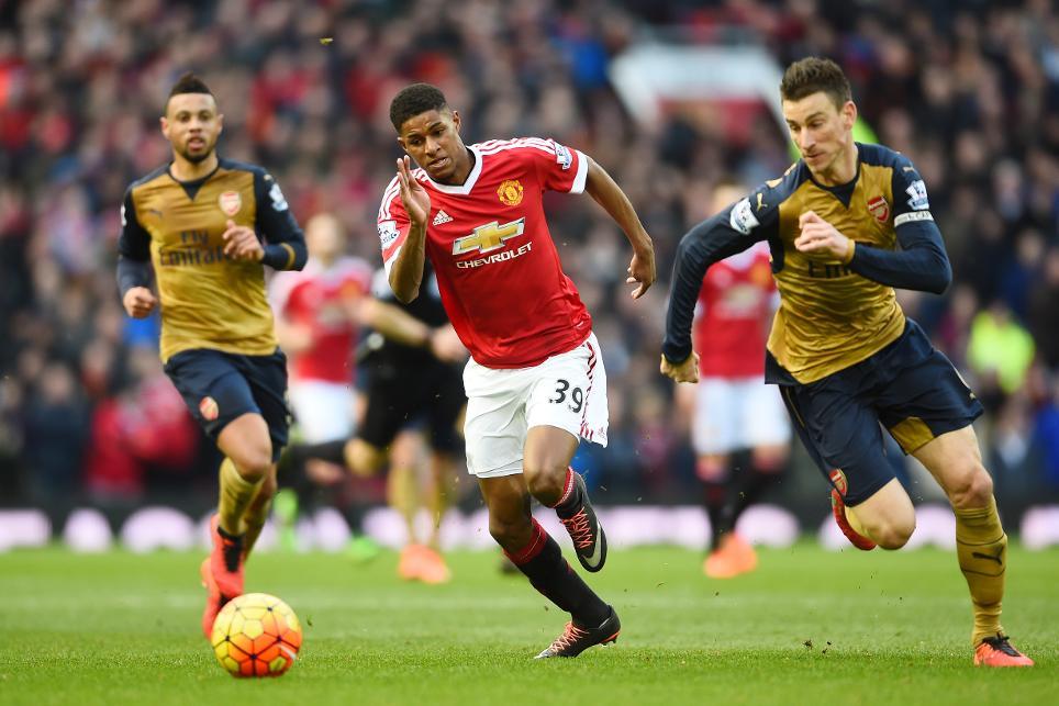 Man Utd v Arsenal, 2015/16