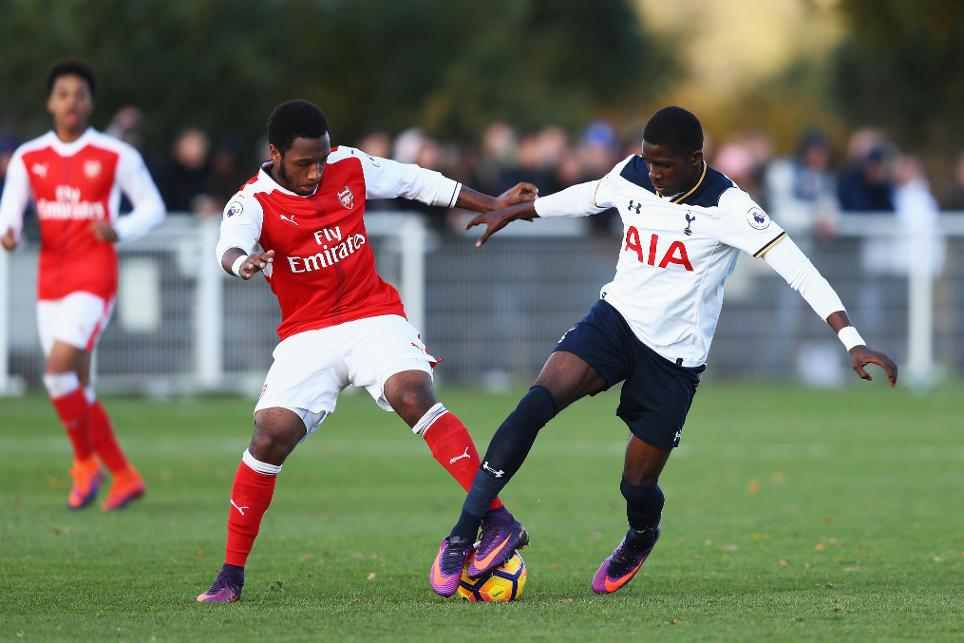 Spurs 0-2 Arsenal, PL2