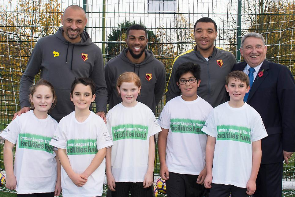 Watford FC Community Sports and Education Trust, Deeney, Gomes, Sinclair, Meriden Community Centre, 181116