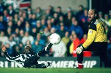 Flashback: Cole treble against Liverpool