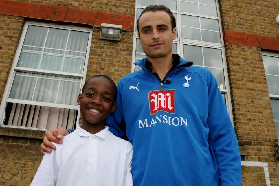 Joshua Onomah meets Dimitar Berbatov, Tottenham Hotspur