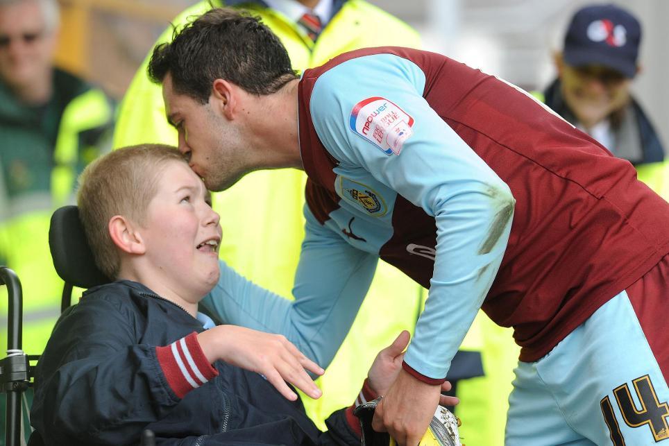 PL/BT Disability Sport Programme: Burnley, Joe Skinner, Danny Ings