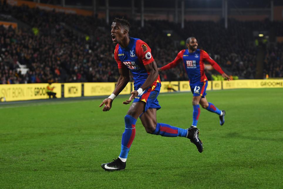 Wilfied Zaha, Crystal Palace