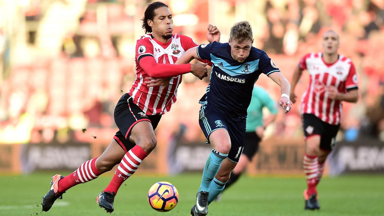 Southampton v Middlesbrough - Premier League