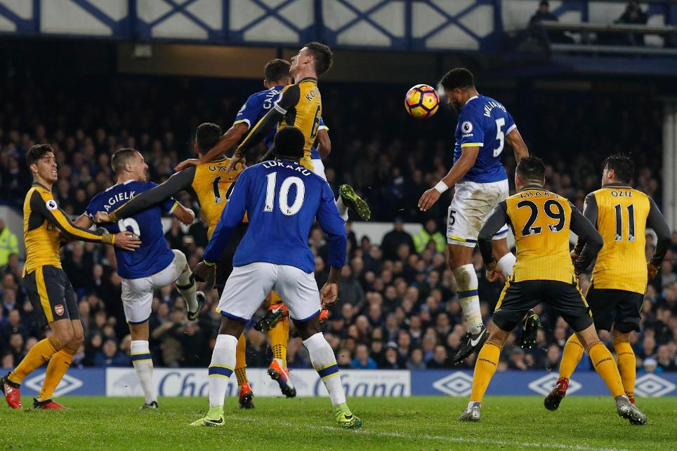 Everton 2-1 Arsenal