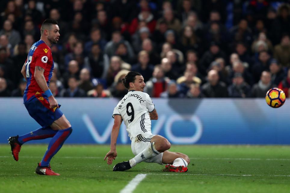 Crystal Palace v Manchester United