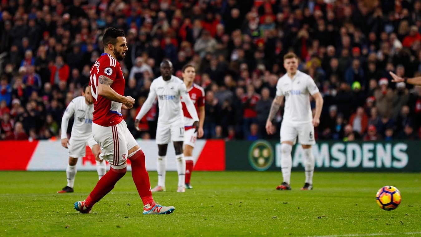 Swansea v Middlesbrough, 2 April
