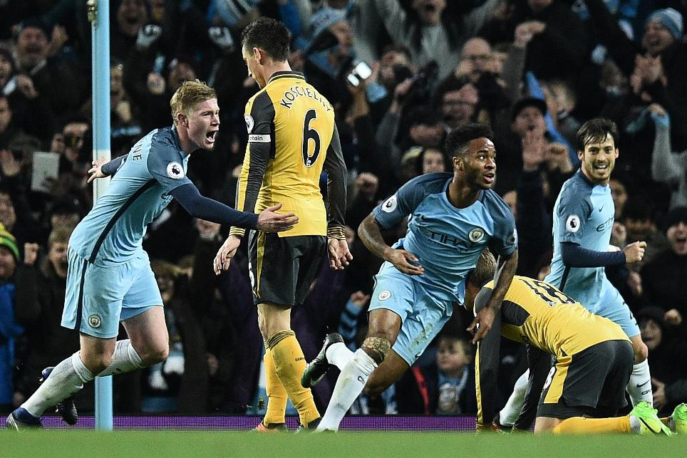 Man City 2-1 Arsenal