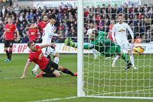 Iconic Moment: Swansea's maiden Man Utd double