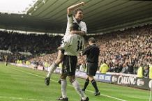 Iconic Moment: Derby's first PL match at Pride Park