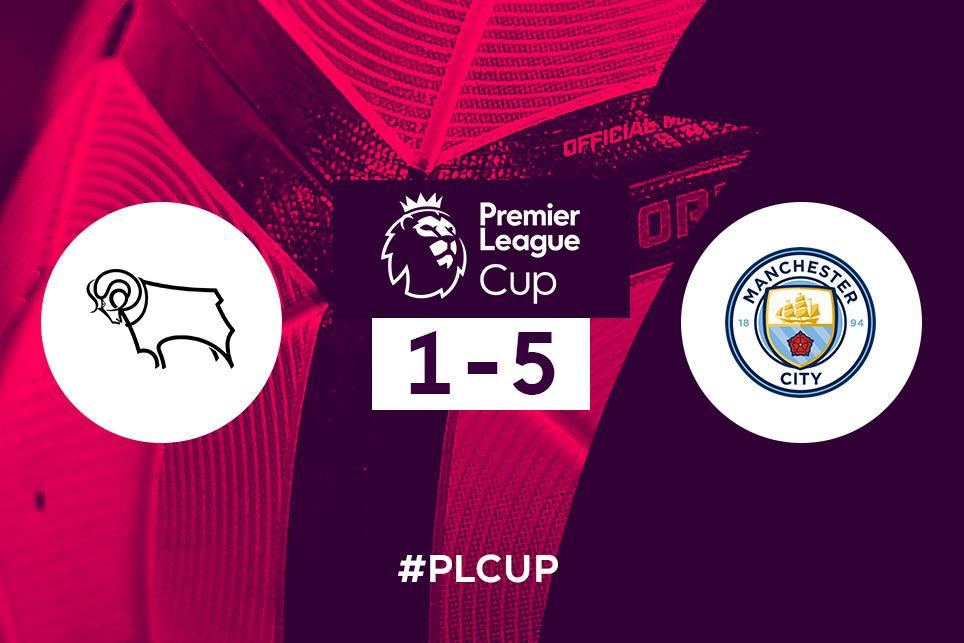 Derby County 1-5 Manchester City