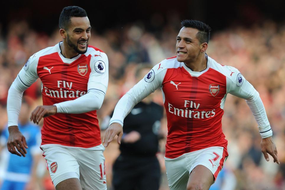 Arsenal v AFC Bournemouth, Theo Walcott