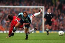 Iconic Moment: Huckerby stuns Man Utd