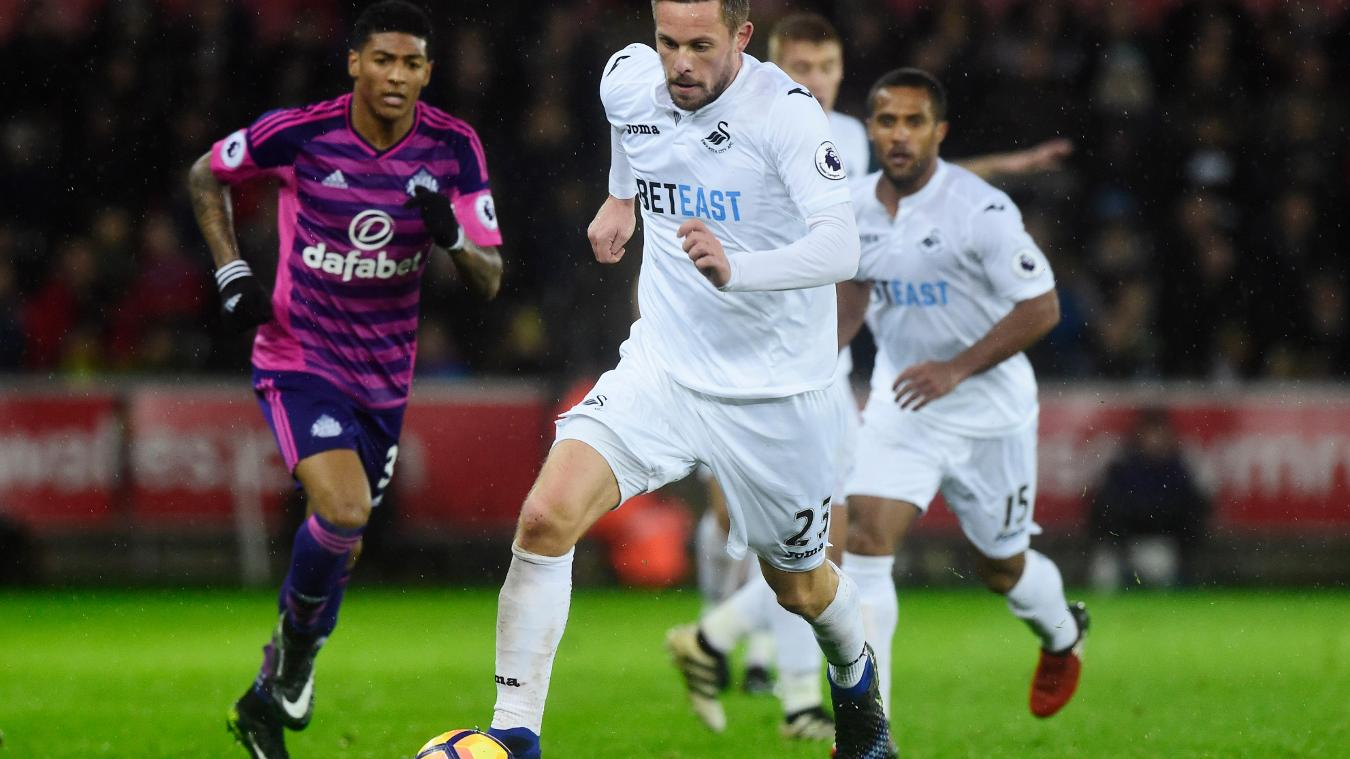 Swansea City's Gylfi Sigurdsson
