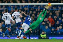 'I made a great save from Cleverley!'