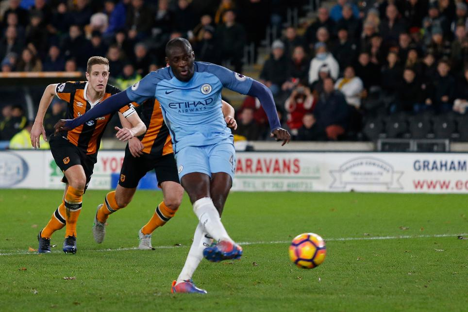 Hull City 0-3 Man City