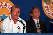 Newcastle United sign Alan Shearer