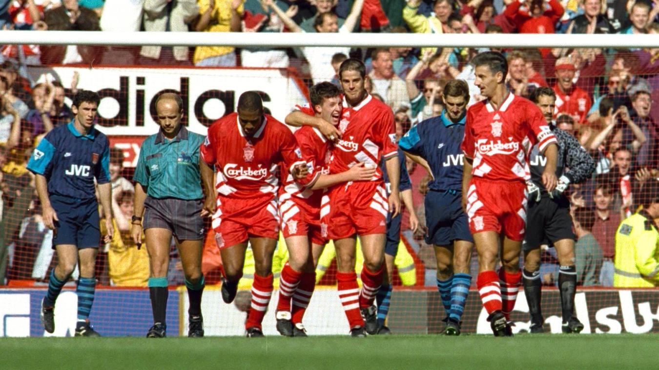 Liverpool v Arsenal, 1994/95