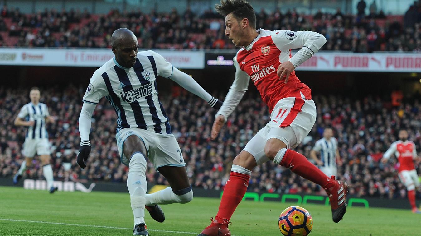 Arsenal v West Bromwich Albion, Mesut Ozil