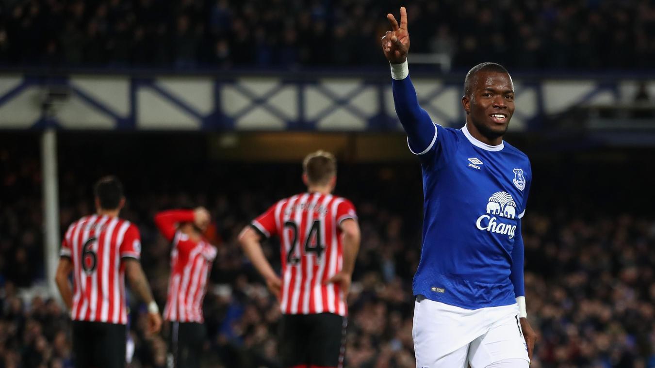 Everton v Southampton, Enner Valencia, goal cele, 020117