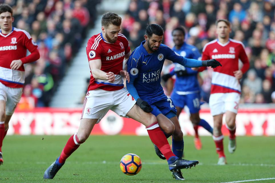 Middlesbrough v Leicester City, Calum Chambers, 020117