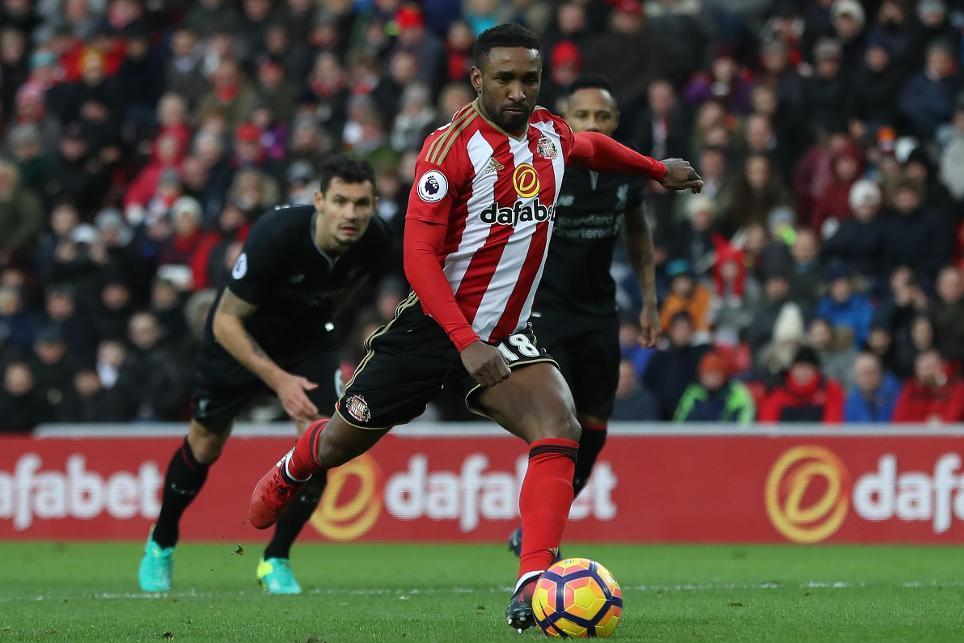Sunderland v Liverpool, 020117, Defoe penalty, goal