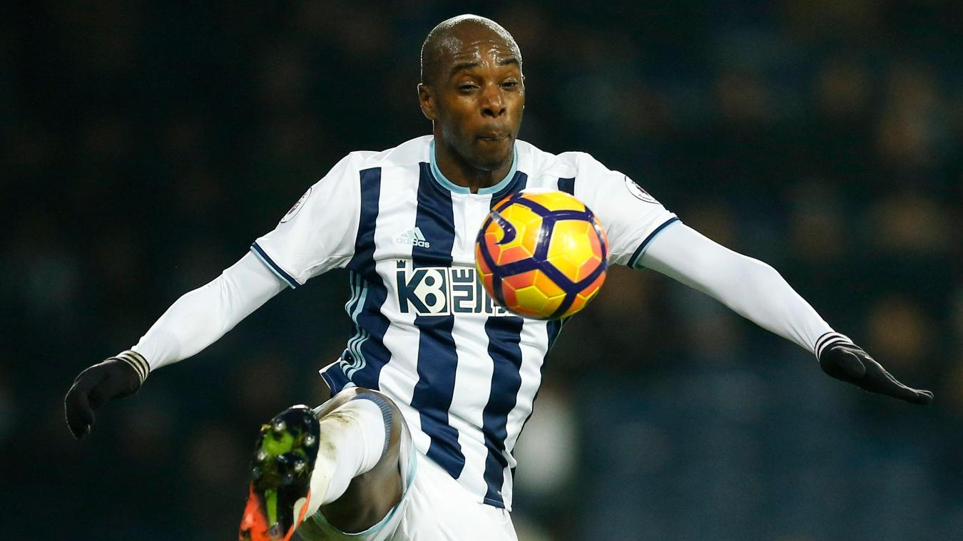 West Brom's Allan Nyom
